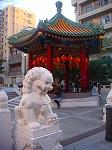 帰りは,もちろん中華街へ!おいしかったです。